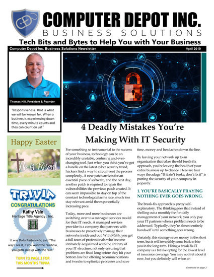 IT services and support Knoxville Sevierville TN